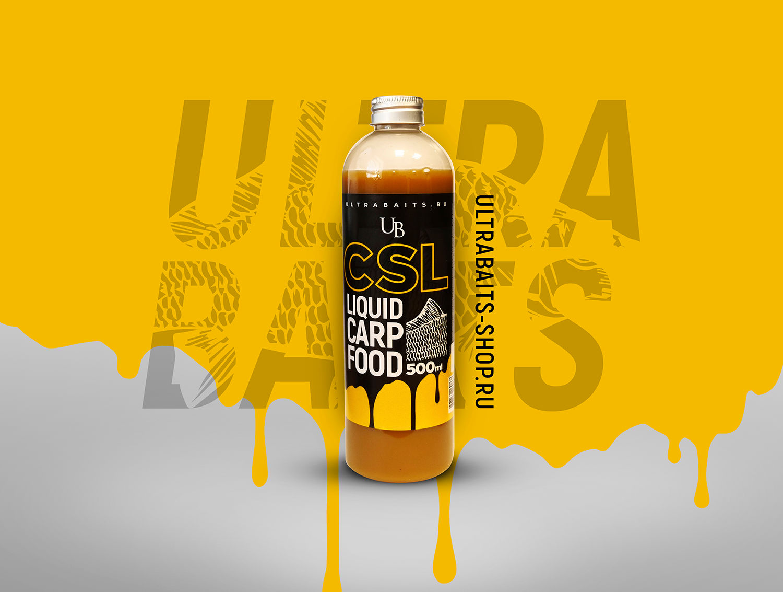 Кукурузный экстракт CSL (Corn Steep Liquor) ULTRABAITS 500 мл