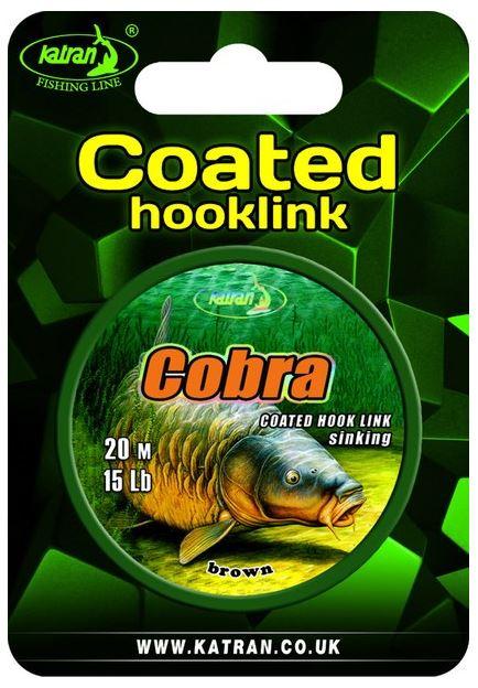 Повод. мат. в оболочке Katran Cobra