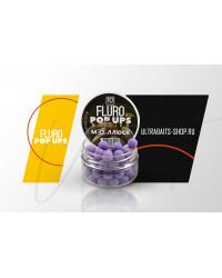 Бойлы плавающие FLURO POP UPS ULTRABAITS (МОЛЛЮСК) 10 мм, банка 30 гр.