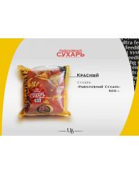 Сухарь рыболовный ULTRABAITS (КРАСНЫЙ) 500 гр.