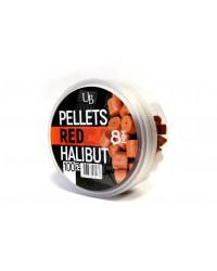 """Пеллетс насадочный Ultrabaits """"RED HALIBUT"""" 8 мм"""