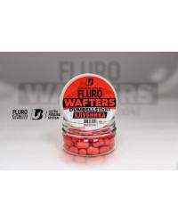 Дамбелсы нейтральные FLURO WAFTERS DUMBELLS (КЛУБНИКА) 10х14 мм